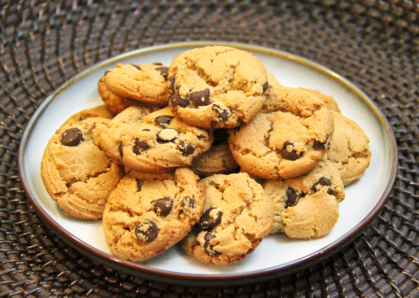 Peanut Butter Chocolate Chip Cookie-1