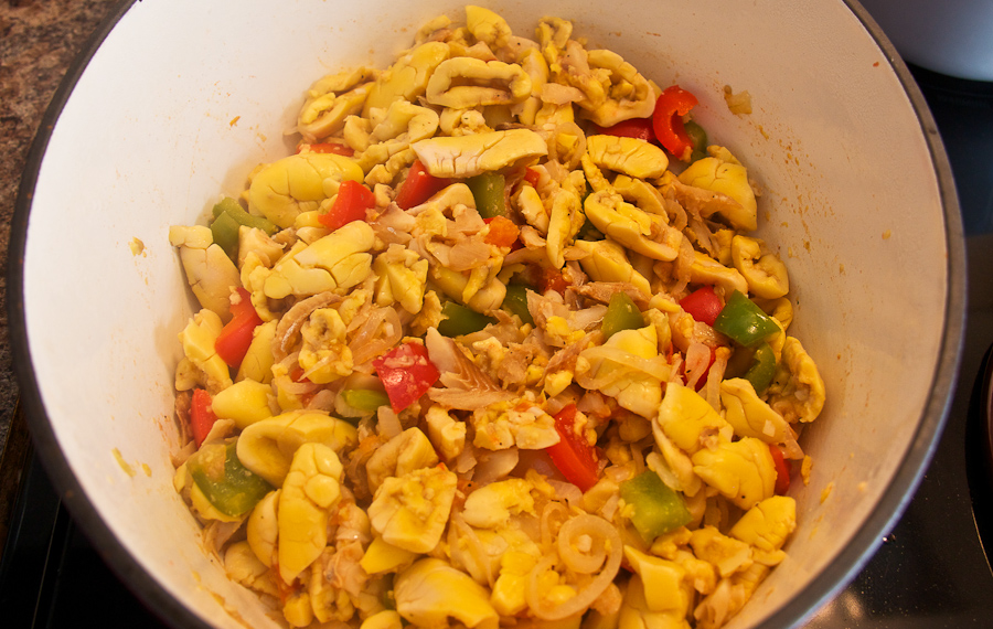 Ackee saltfish lovely pantry lovely pantry for Salt fish ackee