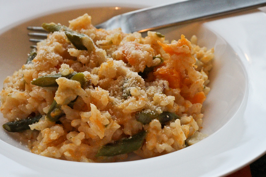 creamy butternut squash orzotto barley risotto with toasted pecans ...