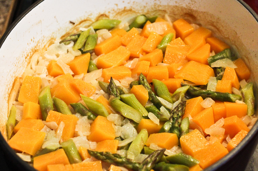 squash orzotto barley risotto with toasted pecans butternut squash ...