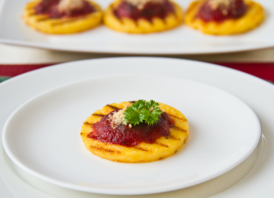 corn peach tomato over i think this may be the most sweet corn polenta ...