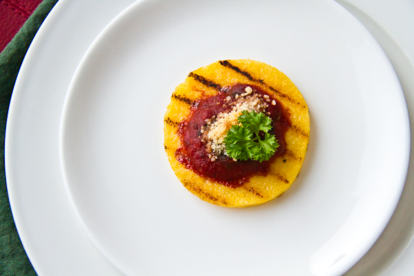 Grilled Polenta Cakes for #SundaySupper - Lovely Pantry | Lovely ...