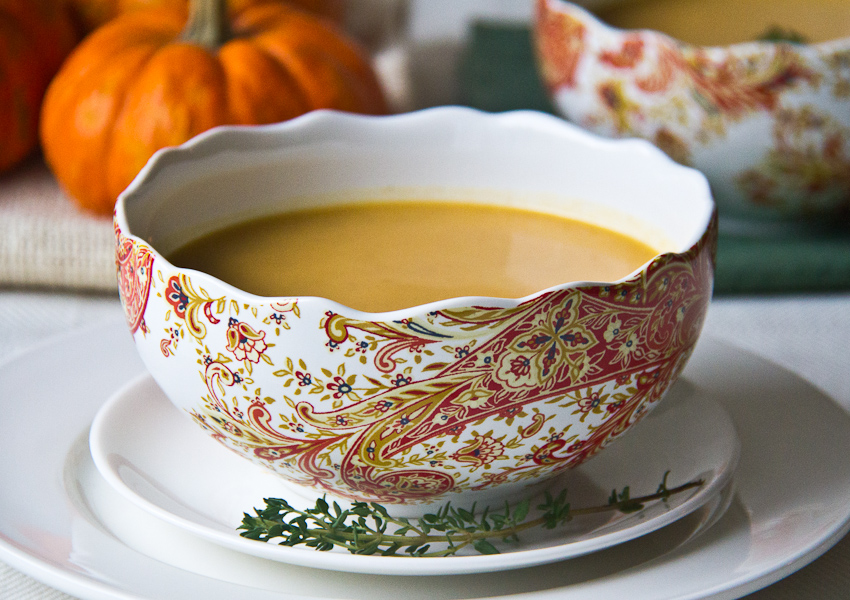 Roasted Pumpkin & Coconut Soup