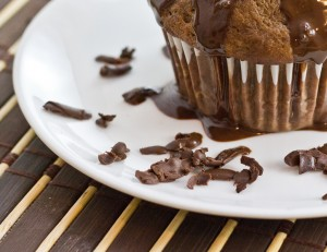 Chocolate Banana & Truffle Muffins-12