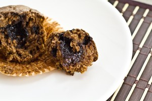 Chocolate Banana & Truffle Muffins-14