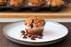 Rum & Raisin Cinnamon Muffins