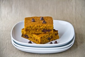 Sweet Potato Chocolate Chips Squares