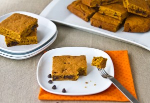 Sweet Potato Chocolate Chips Squares-7