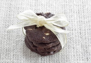 Double Chocolate Cranberry Cookies-5