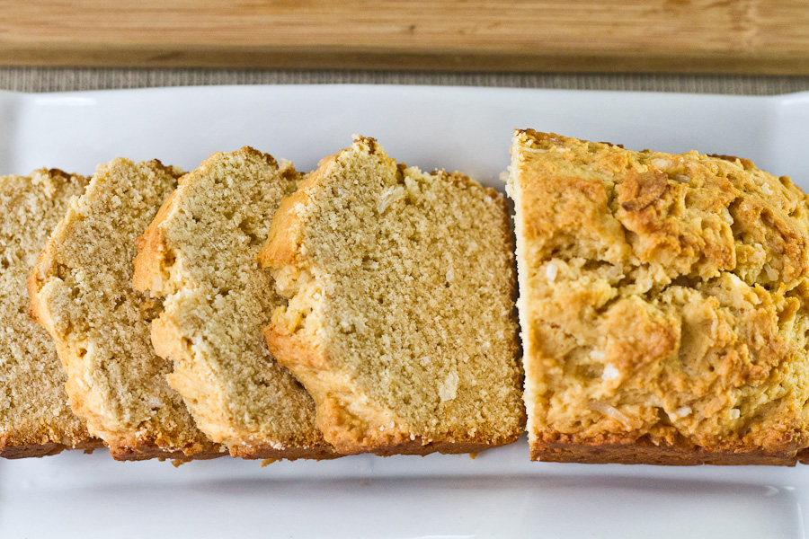 Coconut Loaf Slices