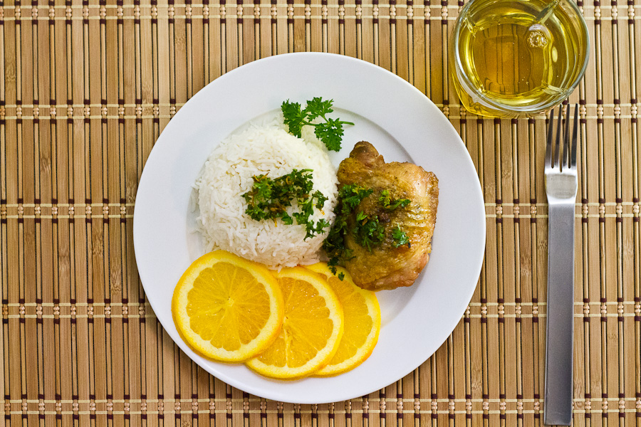 Chicken with Orange Gremolata-4