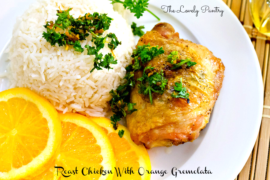 Chicken with Orange Gremolata_2