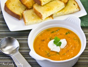 Ital Carrot and Sweet Potato Soup-7a