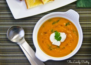 Ital Carrot and Sweet Potato Soup-8a