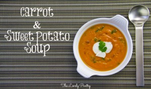 Ital Carrot and Sweet Potato Soup1