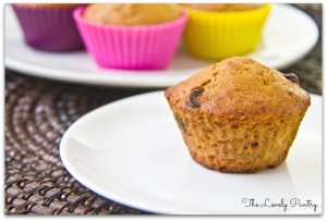 Coconut Banana Chocolate Chip Muffins_2