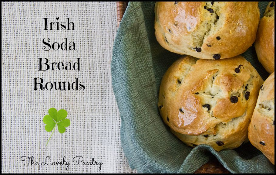 Irish Soda Bread Rounds | Lovely Pantry