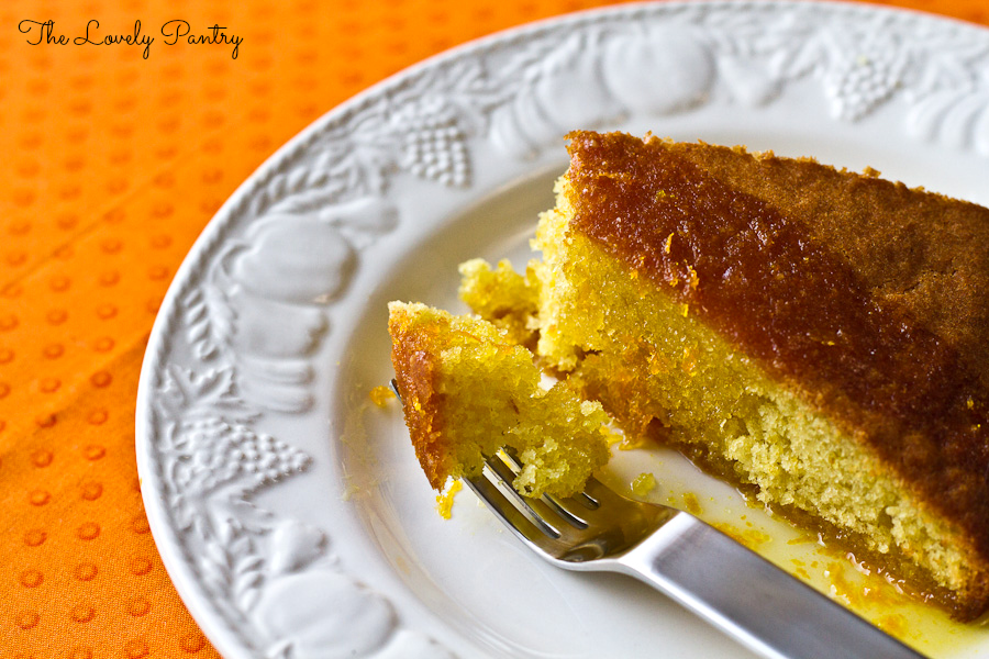 Orange Cake with Orange Syrup_2
