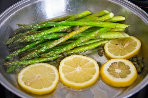 Chicken & Sauteed Asparagus with Lemon-42