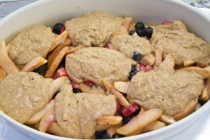 Peach and Berry Cobbler-01