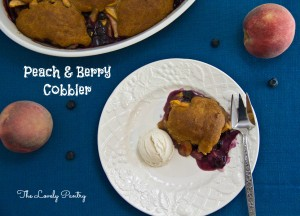 Peach and Berry Cobbler_1