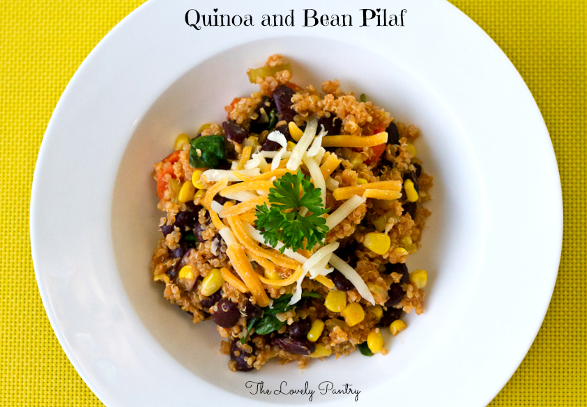 Quinoa and Bean Pilaf_1