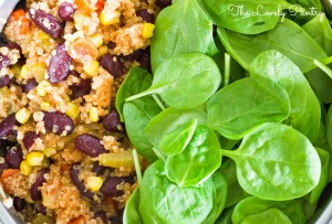Quinoa and Bean Pilaf_3