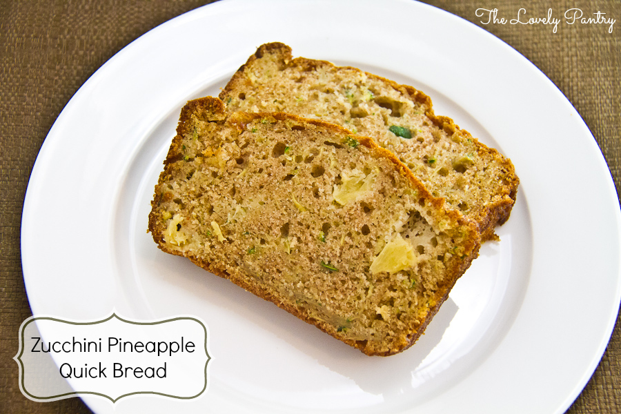 Zucchini Pineapple Quick Bread_1