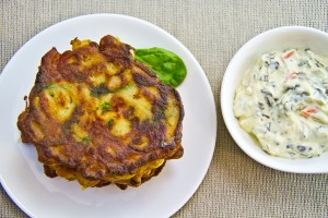 Chickpea Fritters #GlutenFree-13