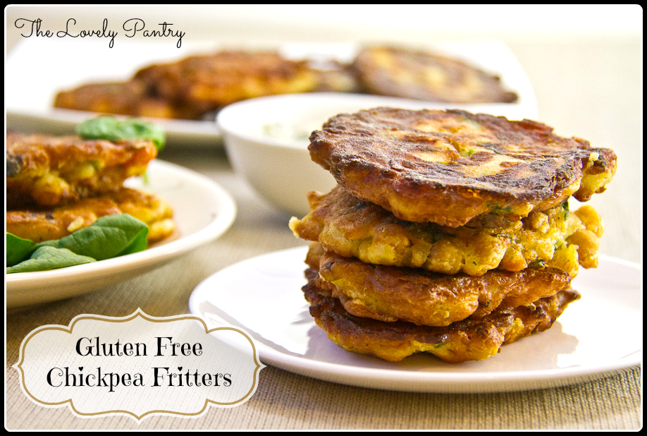 Chickpea Fritters #GlutenFree